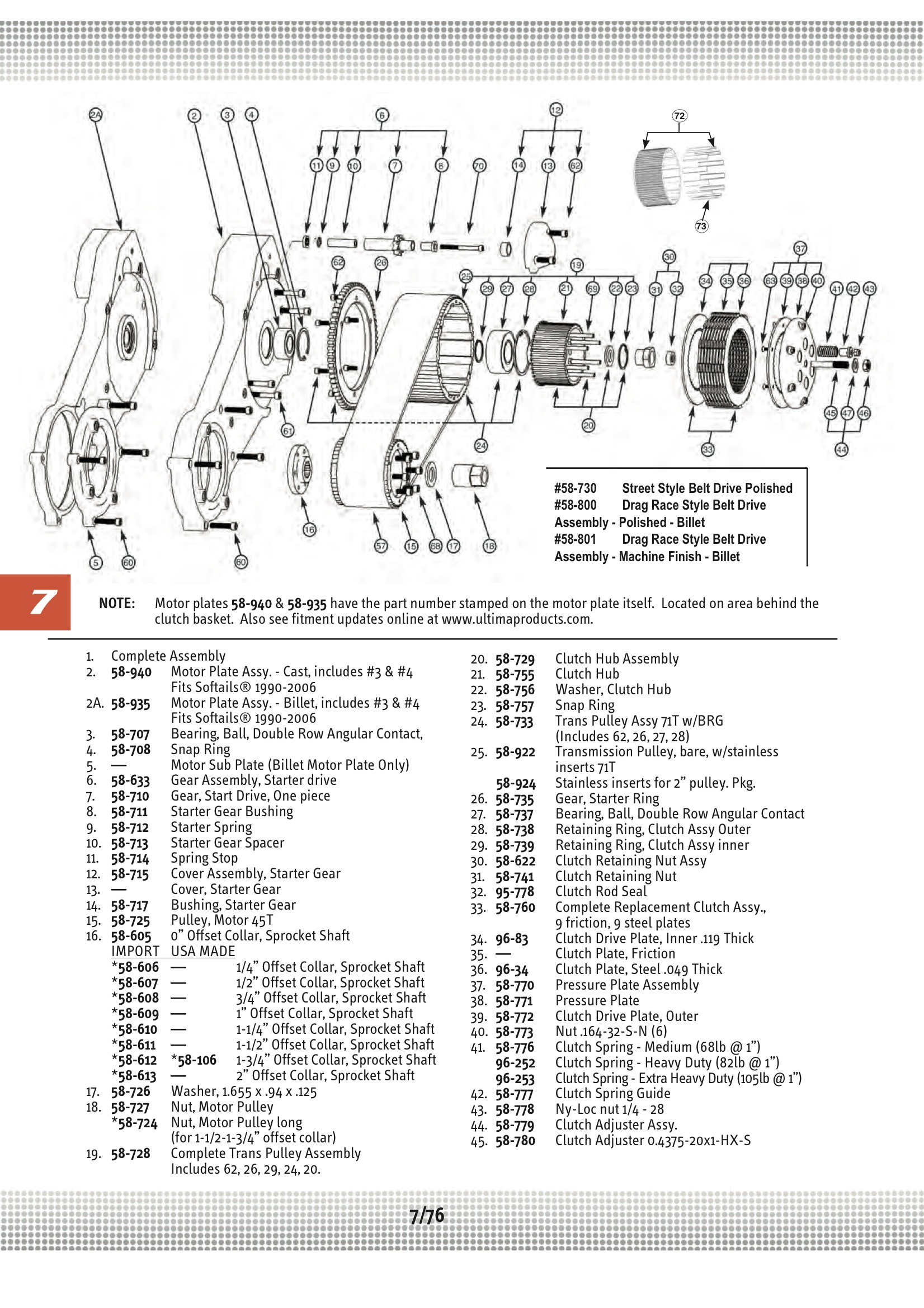 Ultima Starter Diagram Example Electrical Wiring Bobber Harness